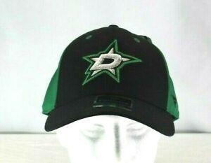 Dallas Stars Black/ Green NHL  Baseball Cap Stretch Fit L/XL