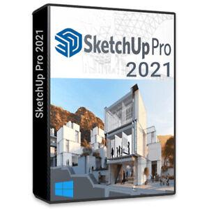 SketchUp Pro 2021 Windows - Lifetime Version - No subscription - Pro Release