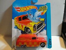 Hot Wheels Color Shifters Red '55 Chevy Panel Truck