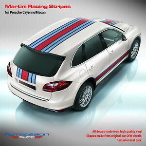 Porsche Cayenne / Macan Martini Racing Stripes