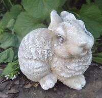 "Latex rabbit mold 5"" x 3.5"" x 3"" plaster cement concrete mould"