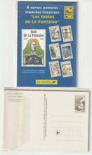 France Ganzsache 1995 entier postal Yv 2958 - 2963-CP 1 ** Jean de La Fontaine