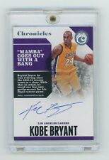 2017-18 Panini Chronicles Kobe Bryant SP /99 On Card Auto Los Angeles Lakers