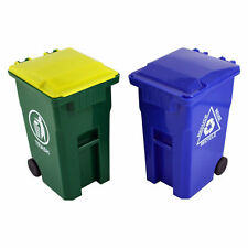 Thornton's Office Supplies Mini Curbside Trash Can Set Pencil Cup Holder