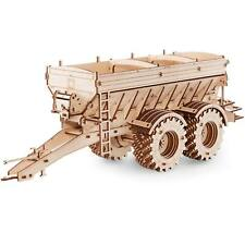 Eco Wood Art Wooden Models: Trailer für Kirovets K-7M