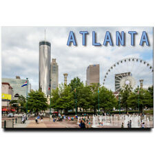 Atlanta fridge magnet Georgia travel souvenir
