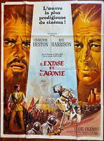 Plakat L'Extase Und L' Agony The Agony Und The Ecstasy Charlton Heston 120x160cm