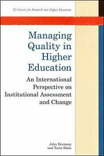 Managing Quality in Higher Education : An International Perspective on-ExLibrary