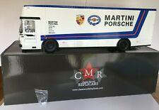 CMR 1/18 MERCEDES-BENZ O 317 COURSE AUTO TRANSPORTEUR PORSCHE MARTINI REF CMR154