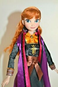"""Disney Store Exclusive Anna Frozen 2 Luxury Doll 12"""", Gift wrapped"""