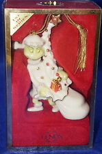 Lenox Ornament Grinch Away With The Tree 1st in Series-NIB