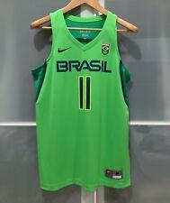 NIKE BRAZIL ANDERSON VAREJAO BASKETBALL JERSEY OLYMPIC FIBA CAVS WARRIORS M