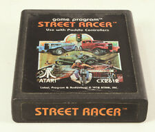 Atari 2600 game Street Racer Tested and Working