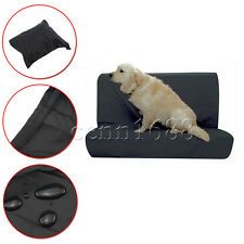pet dog Rear Car Seat Protector Nylon Black Cover Waterproof Base/Back of Seat