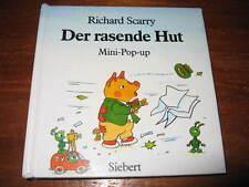 (e177) vecchia MINI-POP-UP-libro per bambini della Orlando CAPPELLO Richard Scarry Siebert 1993
