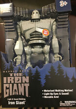 "The Iron Giant Figure Walking w/ Lights & Sounds 14"" Exclusive In Hand Nip"