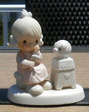 "Precious Moments Figurine - ""Love Cannot Break A True Friendship"""