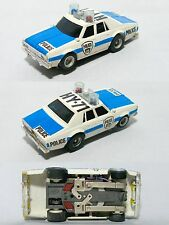 1979 Aurora AFX Mag Chevy Pursuit HY-71 Police Slot Car Rare EarlyClearGumdrops