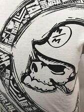 Metal Mulisha T Shirt Helmet Logo Brand Skull Medium