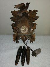 Vintage, 3 Weight, Musical Cuckoo Clock, Regula 25 Movement. Signed A Schneider.