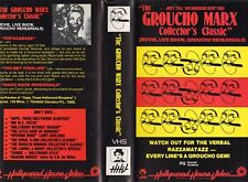 THE GROUCHO MARX COLLECTORS CLASSIC-VHS-PAL-NEW-Never played-Original Oz release