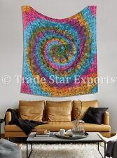 Ethnic Tie Dye Spiral Mandala Tapestries Large Elephant Wall Hanging Throw Decor