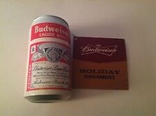 BUDWEISER® VINTAGE CAN ORNAMENT NEW