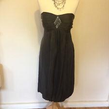NEW - Stunning Grey Monsoon Dress Size 14 RRP: £135