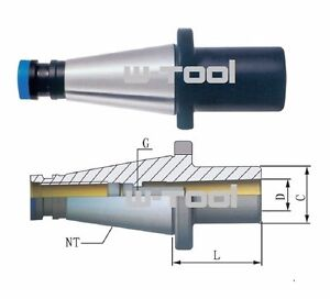 SK50 DIN2080 MK Fräserhülse Zwischenhülse Einsatzhülse ISO50 Morsekegel DIN6364