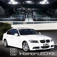 BMW 3 SERIES 16 LED FULL UPGRADE CANBUS ERROR FREE WHITE INTERIOR LIGHT KIT E90