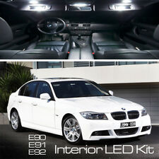 BMW 3 SERIES 16 LED FULL UPGRADE CANBUS ERROR FREE WHITE INTERIOR LIGHT KIT E90