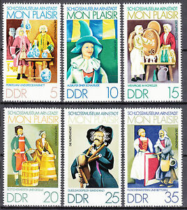 DDR 1974 Mi. Nr. 1975-1980 Postfrisch ** MNH