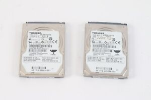 Toshiba MK3261GSYN 320 Et 250 Go Disque Dur Portable Disque Lot De 2