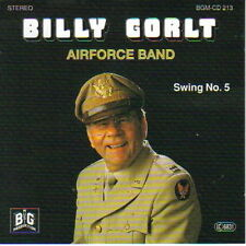 CD Billy gorlt and the Airforce nastro Swing no. 5 90`s (Moonlight Serenade)
