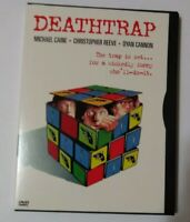 Deathtrap (DVD, 1999) Free Shipping  Michael Caine Christopher Reeve Dyan Cannon