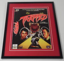 Trapped Framed 8x10 Repro Poster Display James Brolin
