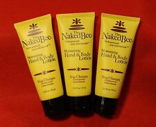 The Naked Bee (3) 2.25 oz Moisturizing Hand and Body Lotion in Nag Champa