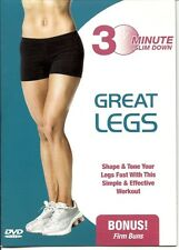 30 MINUTE GREAT LEGS TONING SLIM DOWN WORKOUT EXERCISE DVD