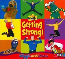 Getting Strong! by The Wiggles (CD, Roadshow Entertainment)
