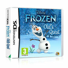 Disney Frozen: Olaf's Quest for Nintendo DS,Lite,DSi & 3DS