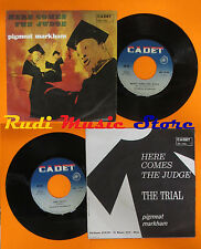 LP 45 7'' PIGMEAT MARKHAM Here comes the judge Trial 1968 italy CADET cd mc dvd