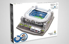 Official Real Madrid Estadio Santiago Bernabeu Stadium 3D Model Puzzle