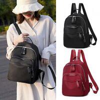 New Women Backpack Purse Anti-Theft Rucksack Waterproof Oxford Cloth School Bag