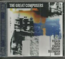 2 CDS - THE GREAT COMPOSERS - PHILHARMINIA SLAVONIA, MOZART FESTIVAL ORCHESTRA,