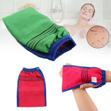 Bath Scrub Exfoliating Body Facial Black Massage Mitt Magic Peeling Glove Mitten