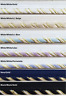 """3/8"""" Metallic Piping with Lip Trim -18 Continuous Yards- Many Colors Available!"""