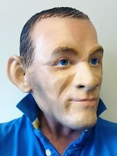 WAYNE ROONEY LATEX MASK ENGLAND FOOTBALL STRIKER MANCHESTER FOOTBALL FANCY DRESS