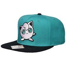63435afd885 Pokemon Jigglypuff Turquoise Snapback Hat NEW Baseball Cap