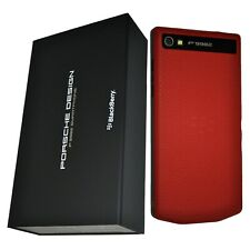 BNIB Blackberry Porsche Design P'9982 RGE111LW 64GB Red Factory Unlocked P9982