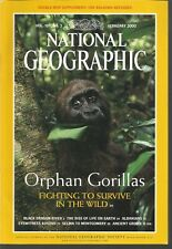 National Geographic February 2000 Black Dragon/Messel/Albanians/Gorillas/Kosovo